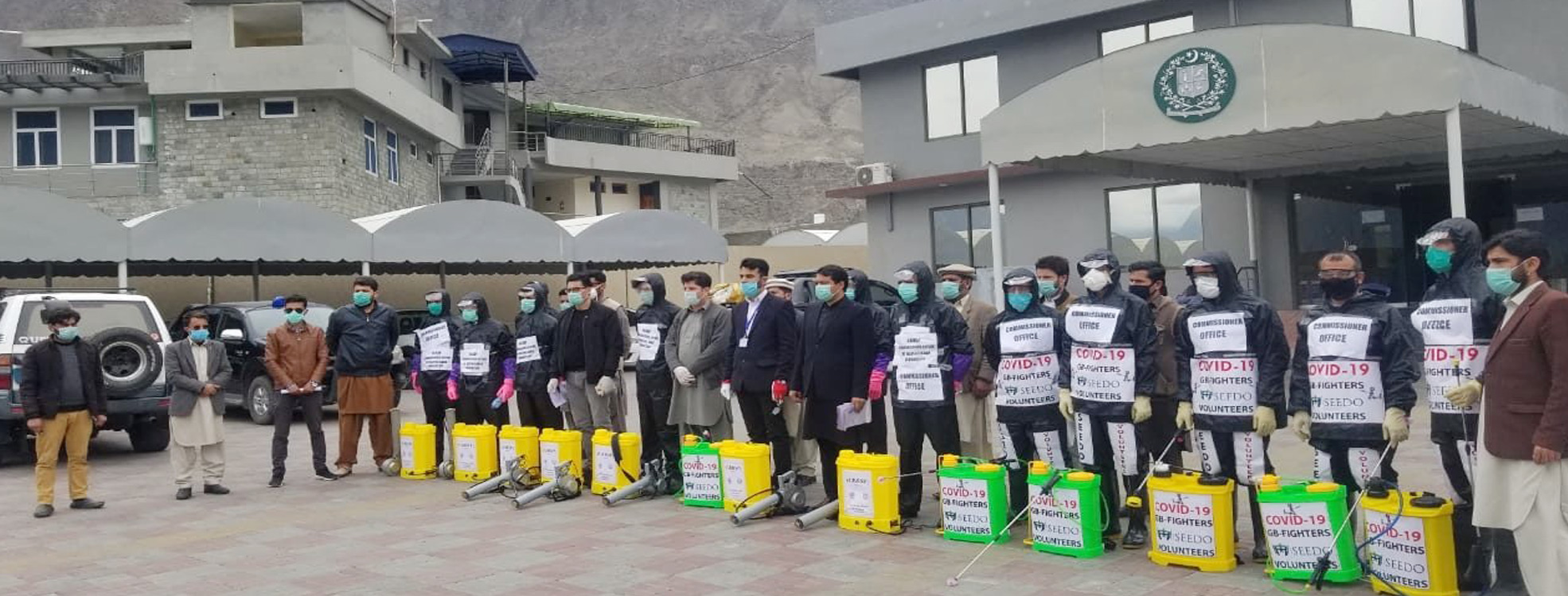 seedo gilgit baltistan participated in covid 19